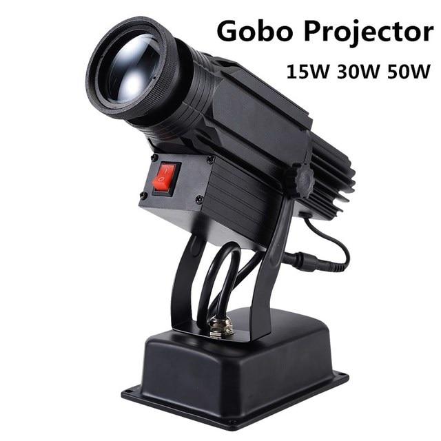 Logo Projector 15W 30W 50W mini Light Custom Made Logo Lens Retail Shop Indicate Sign Instruct Notice Gobo Lens Party disco ktv