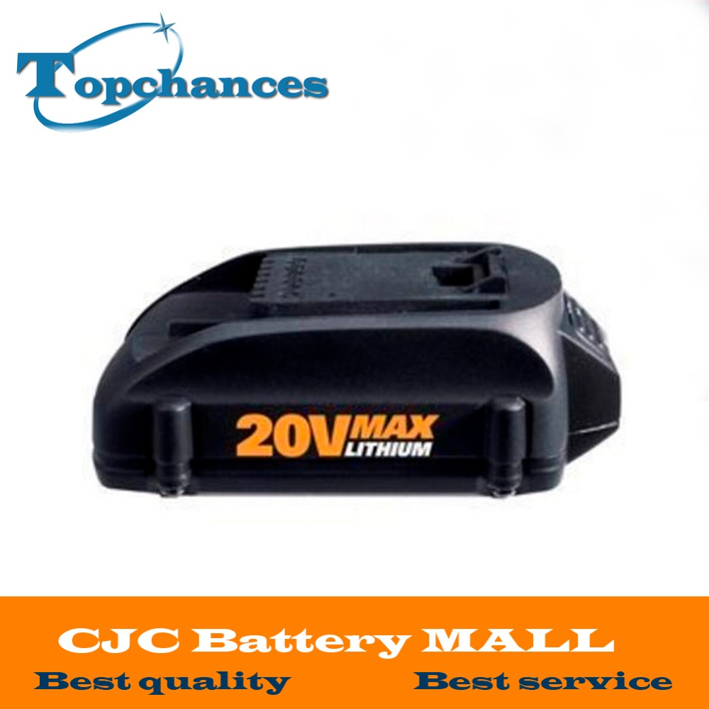 High Quality Newest 20V 2000mAh Lithium Replacement battery for WORX wg151 wg151 5 wg155 wg155 5