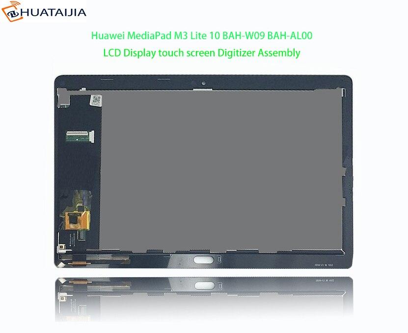 1920*1200 10,1 для huawei MediaPad M3 Lite 10 BAH-AL00 BAH-W09 BAH-L09 ЖК-дисплей Дисплей сенсорный экран планшета Ассамблеи Часть