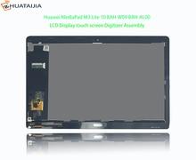 """1920*1200*10.1 """"dla Huawei MediaPad M3 Lite 10 BAH AL00 BAH W09 BAH L09 wyświetlacz LCD montaż digitizera ekranu dotykowego części"""