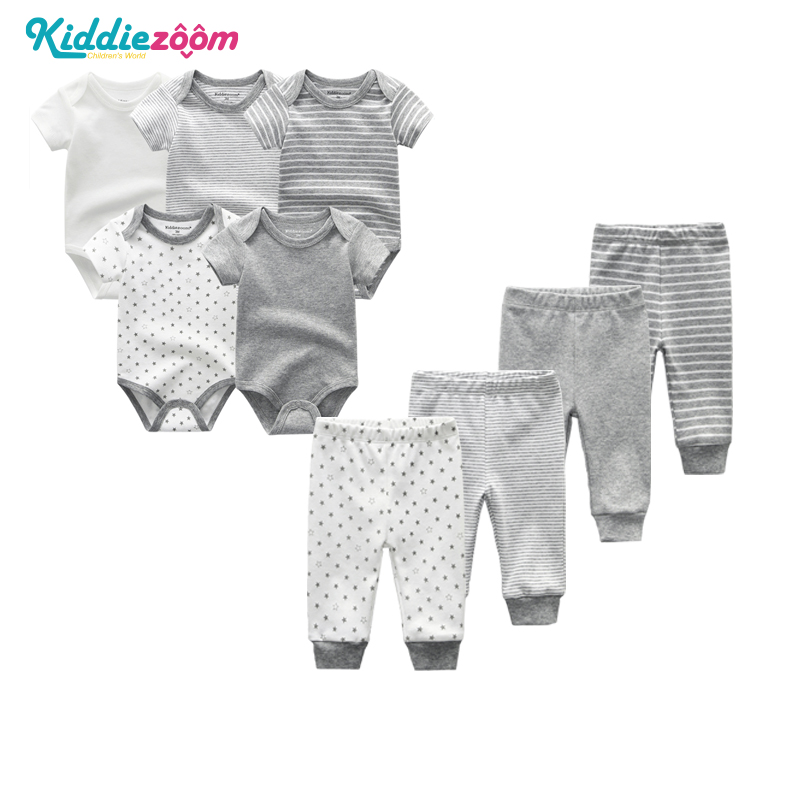 Kiddiezoom PCS LOT Designer Newborn Baby Boy Clothes Sets  Cotton infant Girl Clothing Ropa Bebe