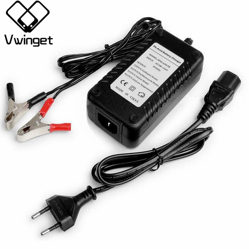 12V car & Motorcycle <font><b>Battery</b></font> Charger 12V Lead Acid <font><b>Battery</b></font> Charger for SLA,AGM,GEL,VRLA,Charge Mode 4 stages,MCU Control