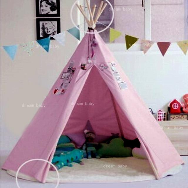 super big size six corner india style kids play tent house & super big size six corner india style kids play tent house-in Toy ...