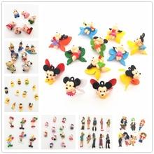 Set10-100pcs,Resin 3D Movies Cartoon characters,cartoon mixed colors,resin kawaii 3d Cabochon for phone/key chain decoration,DIY