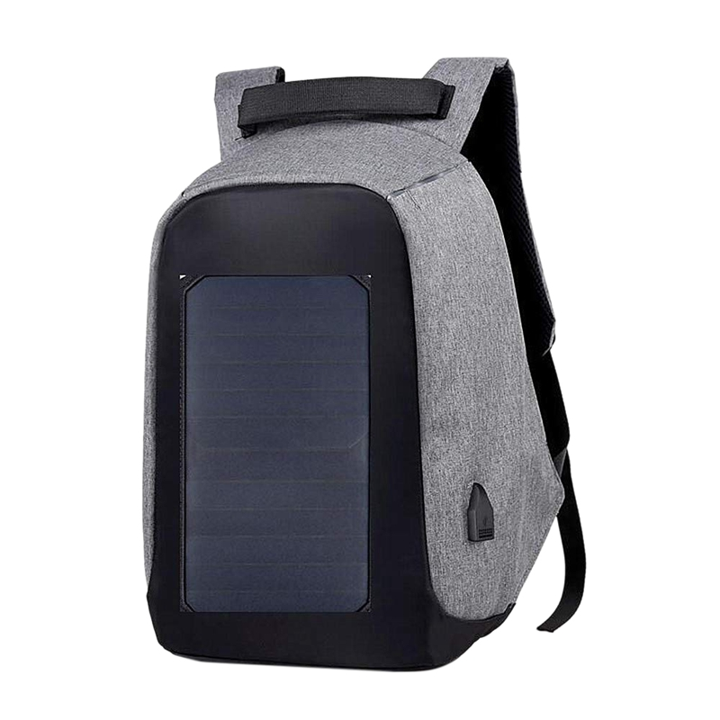 Anti-Theft Laptop Backpack With Solar Panel Charger Large-Capacity Business Office Travel Backpack For Men And Women