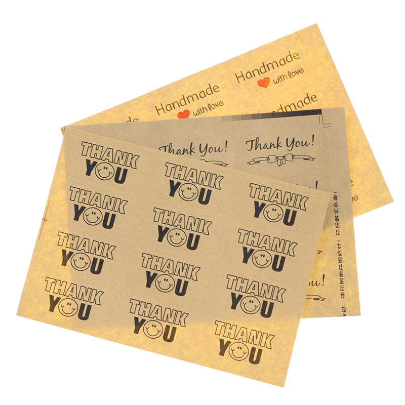 Self Adhesive Paper Tags Seal Label Handmade Sticker Paste Stickers Stickers