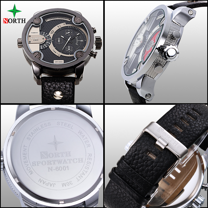 Reloj deportivo masculino Marca de lujo Moda Hombre Reloj 30 M Acero - Relojes para hombres - foto 4