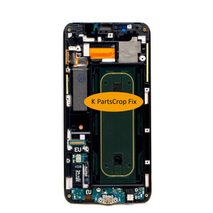 """Image 4 - For Samsung Galaxy S6 Edge Plus LCD G928 G928F Display Touch Screen Assembly Replacement For 5.7"""" SAMSUNG S6 Edge Plus LCD+frame"""