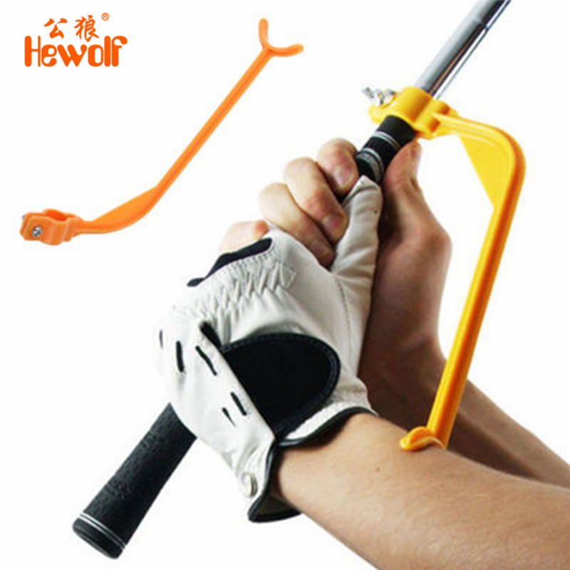 Hewolf Golf Swing Trainer Educational Practice Guide Beginner Gesture Alignment Golf Club Correct Wrist Training Aid Tools line dance a beginner s guide
