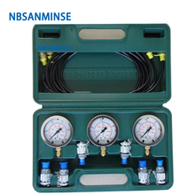 NBSANMINSE SM2540 Pressure Testing box for  Excavator Ships Hydraulic Industry Engineer Application