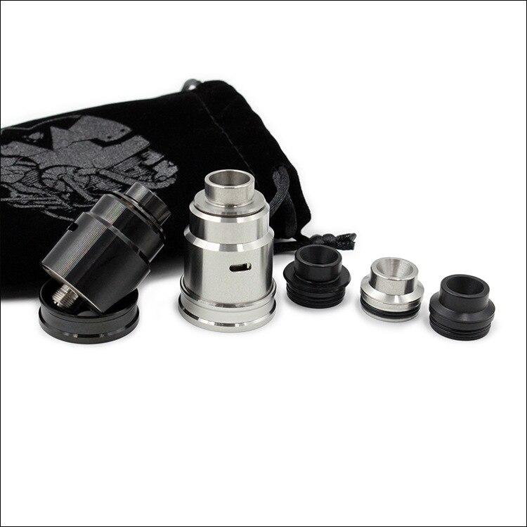 Entheon RDA E Zigarette 22mm Holt Tropft Zerstäuber mit 24mm Stecker Mech Tank für Mechanische Box Mod vs 528 Goon eCig