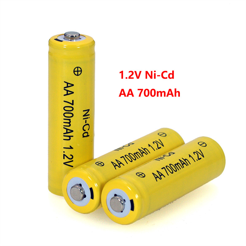 4PCS NI-CD AA Batteries 1.2v Rechargeable Nicd Battery 1.2V Ni-Cd Aa For Electric Remote Control Car Toy RC Ues