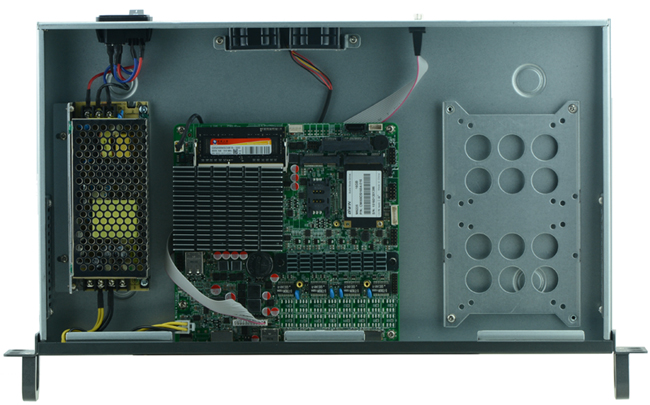 Купить с кэшбэком 1U j1900 firewall router pfsense router server / firewall server with J1900 2.0GHz 4*82583V 1000mbps Lans  4 lan