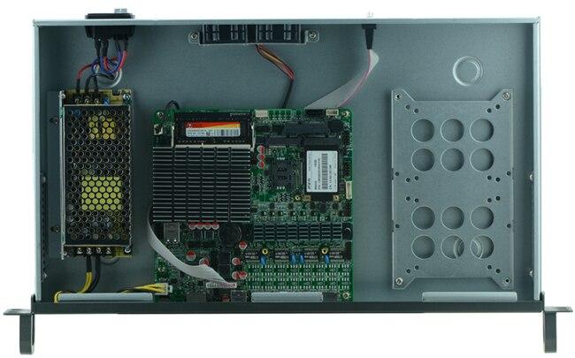 1U j1900 firewall router pfsense router server / firewall server with J1900 2.0GHz 4*82583V 1000mbps Lans  4 lan
