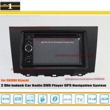 For SUZUKI Kizashi 2009~2014 – Car Radio Stereo CD DVD Player / HD Touch Audio Video GPS Navigation System