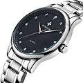Brand Men Watches Men's Waterproof Casual Quartz Watch Diamonds Hour Stainless Steel Sports Wrist Watch Male Relogio