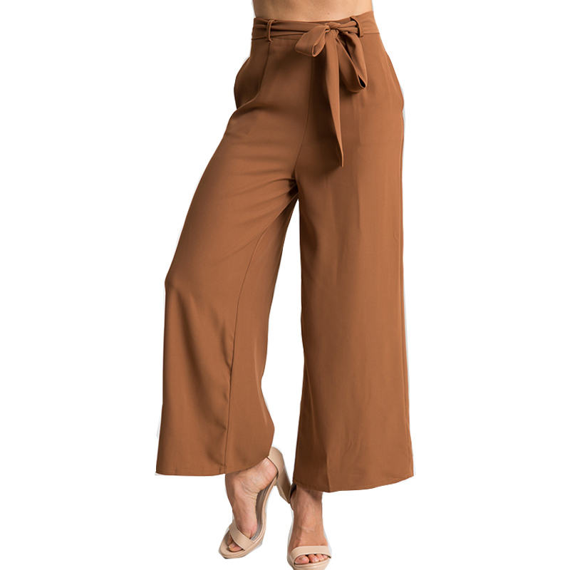 886cd6861f1 Elegant Solid Wide Leg Pants Trousers Oversize Pantalon Femme Fashion  Trousers For Women Sexy Sheer Women s Pants Plus Size