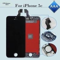Black Color LCD Screen For IPhone 5C Replacement Display Repair Ecran Pantalla Digitizer Assembly For Iphone