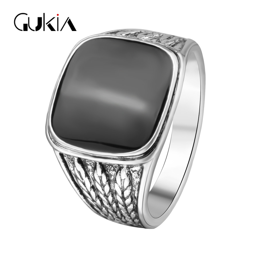 Forever Heart The Black Friday To provide The Lowest Price Men Biker Silver Plated Jewelry Fashion Wedding Rings For Men