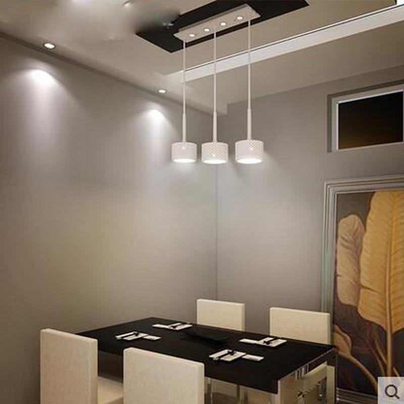 Moderno semplicità originalità personalità led tre testa lampadario ...