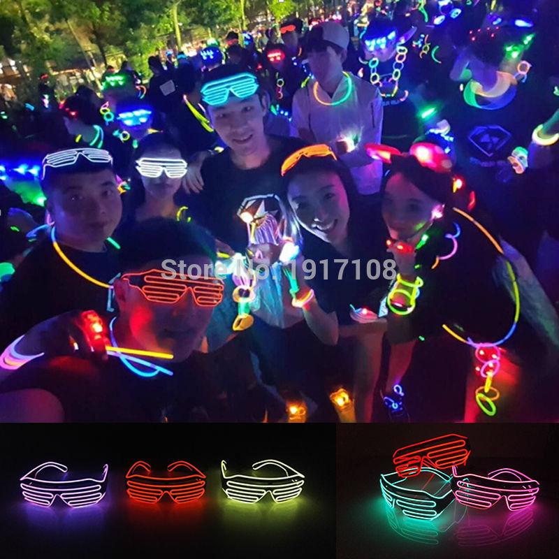 2017 vruće prodaja el žica neonska svjetla do zatvarača moderne - Za blagdane i zabave - Foto 6