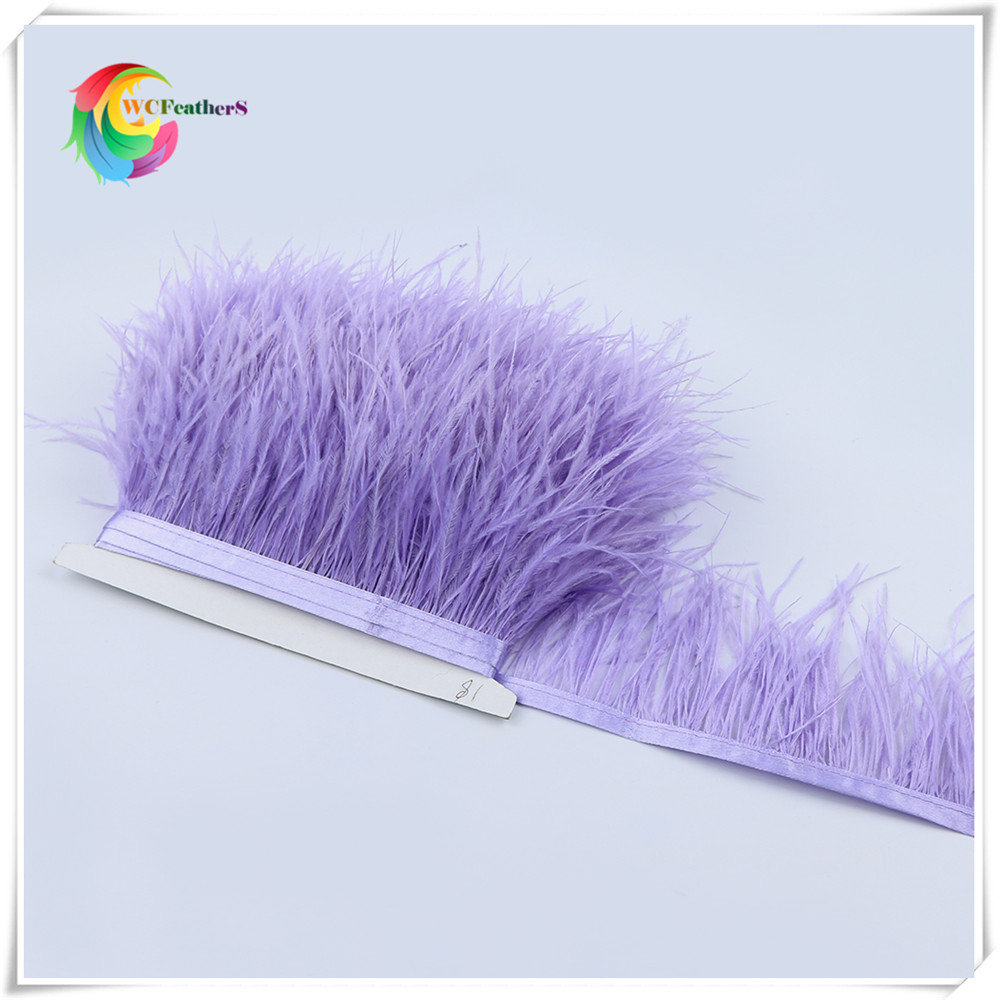 O21 8-10cm ostrich feather trims 4