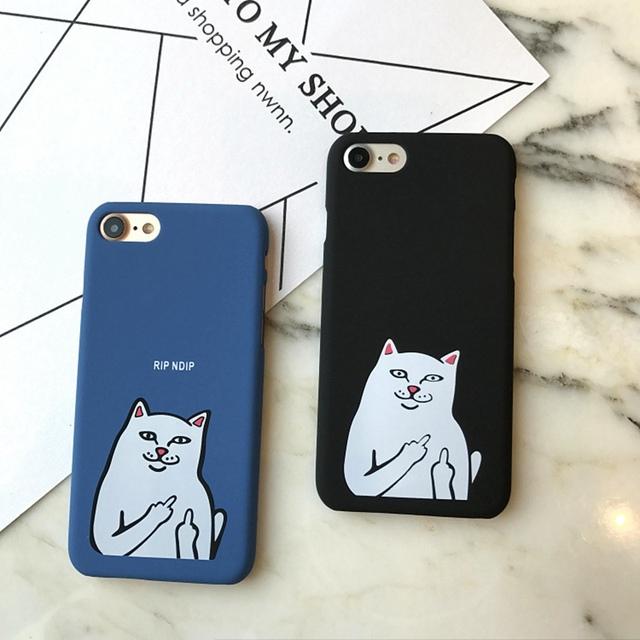 Finger Cat Case for Iphone