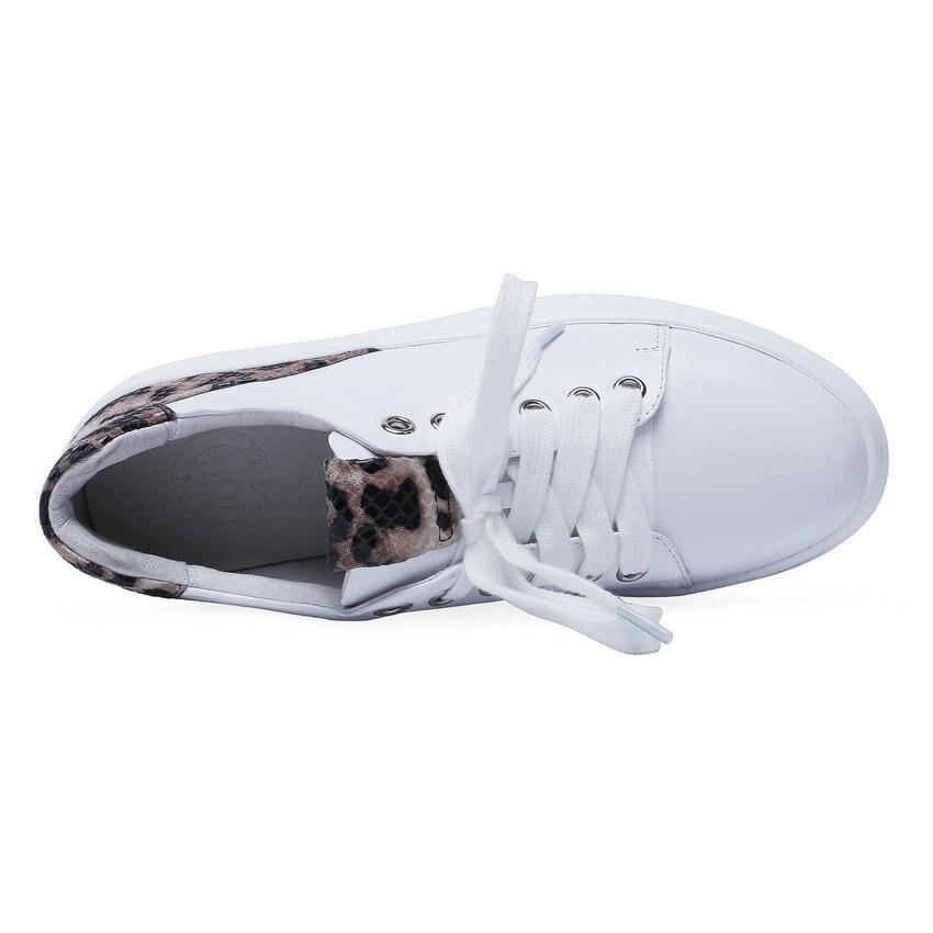 QUTAA 2020 النساء مضخات أسافين كعب النساء الأحذية منصة كل مباراة منصة عارضة جلد البقر + بو السيدات مضخات حجم 34 42-في أحذية نسائية من أحذية على  مجموعة 3