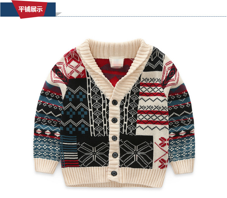 2016 new children cardigans boys lovely cotton sweaters 2 6 years fashion cotton cardigan