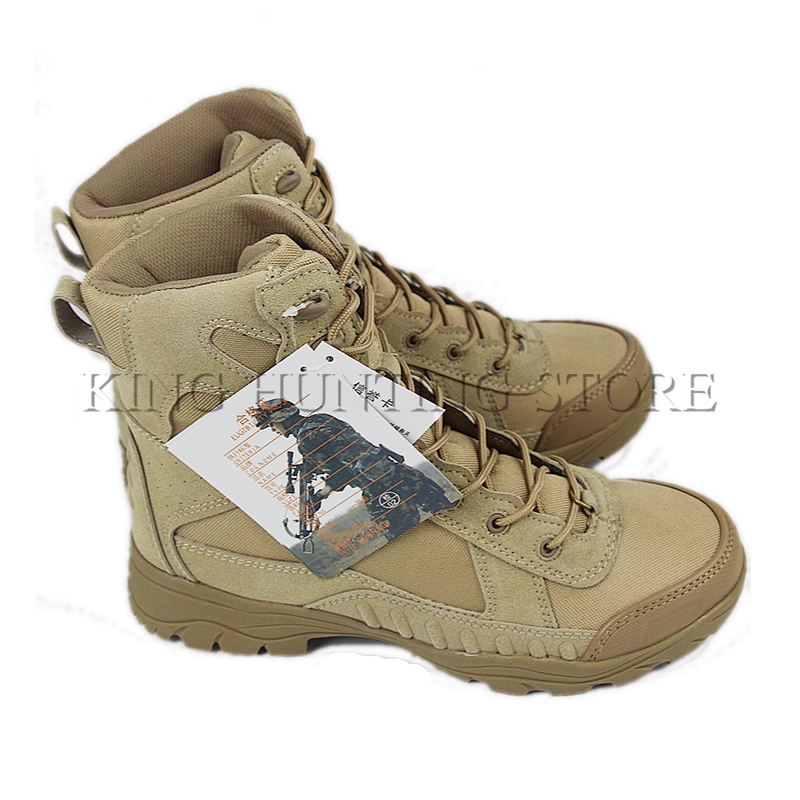 DUTOLE Tactical Boots Military Desert SWAT American Combat Boots Outdoor Shoes Breathable Wearable Boots Hiking Training Shoes new outdoor hiking boots special forces tactical boots men s desert combat boots size 39 40 41 42 43 44 45