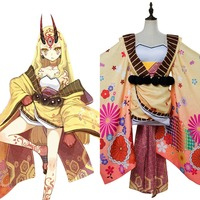 FGO Fate Grand Order Cosplay Costume Berserker Ibaraki Doji Cosplay Costume Halloween Carnival Costumes For Adult Women Girls
