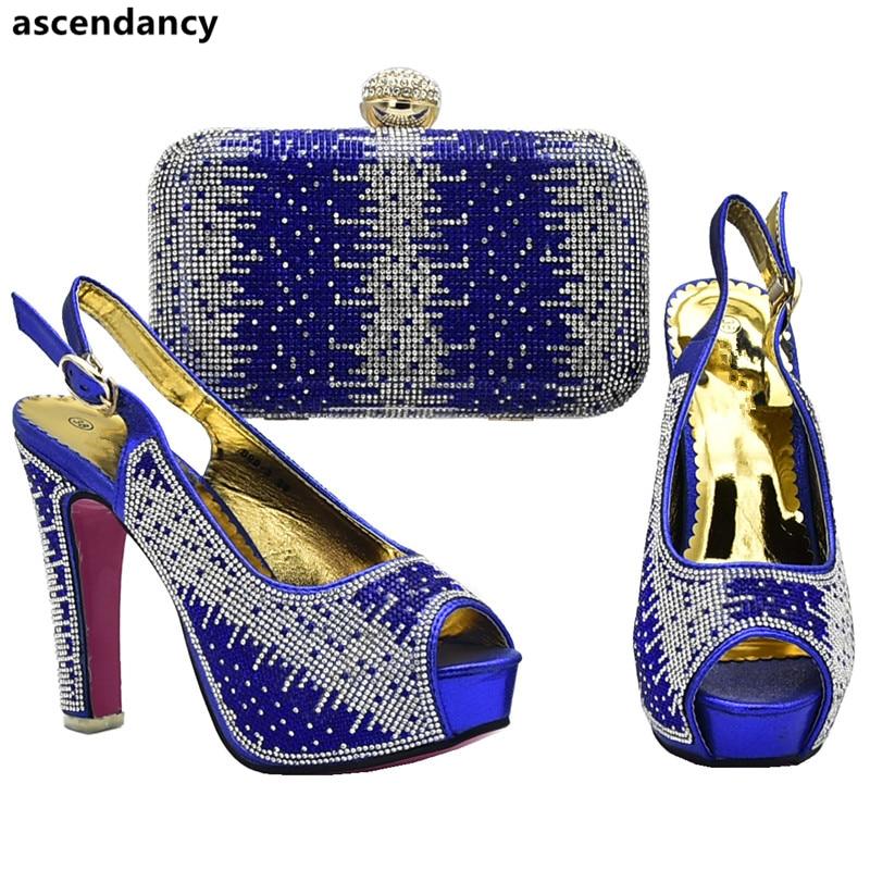 cb8c3643ec New Arrival Nigerian Party Shoe and Bag Sets Italian Shoes and Bags Set  Envio Gratis African Shoes and Matching Bags Set Italian