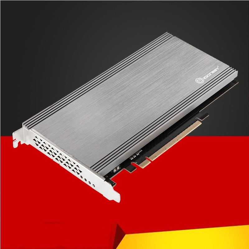 BTBcoin ajouter des cartes PCIE à M2 adaptateur M.2 SSD PCIE adaptateur M.2 à PCIE x16 adaptateur NVME PCI Express M clé pour 2230-2280 M2 SSD