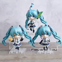 3pcs/set Vocaloid Hatsune Miku V4 Chinese Ver. Q Version Nendoroid PVC Figure Dolls Toys Birthday Gift