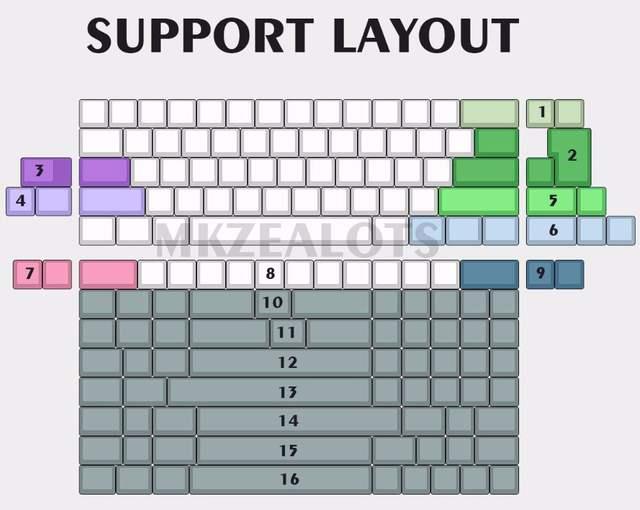 US $35 0 |DZ60 PCB 60% keyboard Custom mechanical keyboard support arrow  key Underglow RGB programmed GH60 Type c-in Keyboards from Computer &  Office