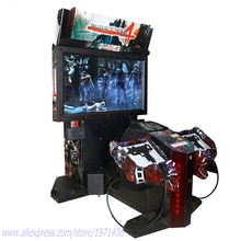 Indoor Coin Operated Amusement Equipment House Of The Dead 4 Gun Shooting Simulator Arcade Game Machine