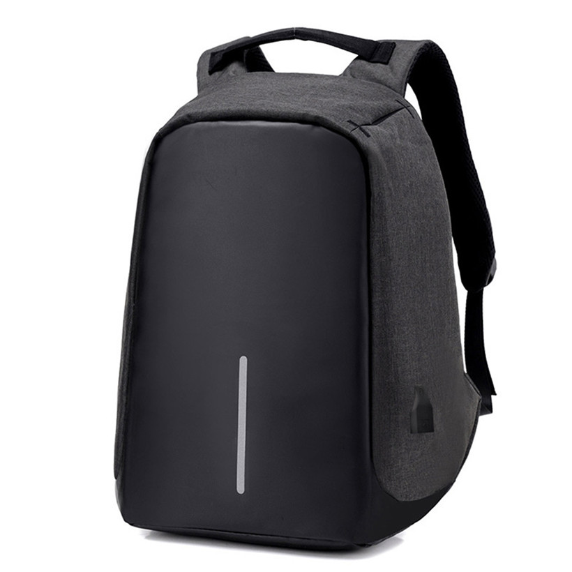 Advanced 2017 New Anti-theft Waterproof Laptop Backpack Men External USB Charge Notebook Backpack for Women 15.6 Computer bag