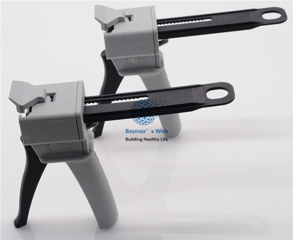 Стоматологическое лабораторное 4:1/10:1 впечатление диспенсер для смешивания пистолет клеевой 50 мл 2 предмета в комплекте