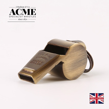 ACME60.5 original brass retro whistle coach referee sports training cheerleading providing laser lettering service