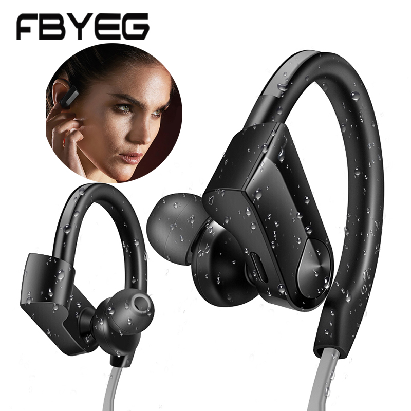Bluetooth Earphone Wireless Headphones bluetooth sport headset stereo Low Noise Cancellation earbuds With Mic To Phone