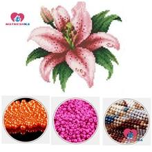 Diy бусины вышивка цветок бисерная вышивка домашний декор бусы ручной работы крест аксессуары для вышивания подарки жемчужная вышивка частичная вышивка