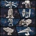 Envío de La Venta Caliente puzzle juguetes Kits de Construcción de maquetas de star wars metal 3D Maquetas DIY Metallic Nano Puzzle Juguetes
