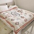 Junwell 100% хлопок муслин одеяло кровать диван путешествия дышащий шик килим стиль большой мягкий пледы одеяло Para