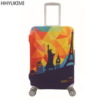 HHYUKIMI Child Cartoon Portable Elastic Luggage Protective Cover 19 32 Inch Trolley Suitcase Protect Dust Bag