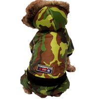 Camouflage Pet Dog Clothes For Small Dogs Sweatshirts Winter Pet Clothing Apparel Puppy Dog Coat Hoodie