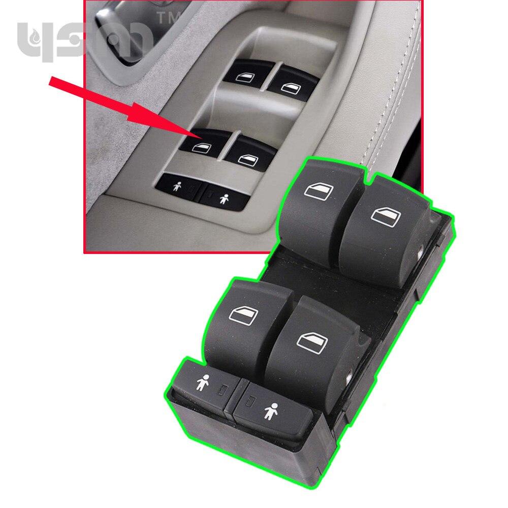 Новый Мастер окно Электрический Выключатель драйвера 4E0959851B для 04-10 Audi А8 Кватро 4E0959851C 5PR 4Е0 959 851 5PR с 4Е0 959 851C 5PR