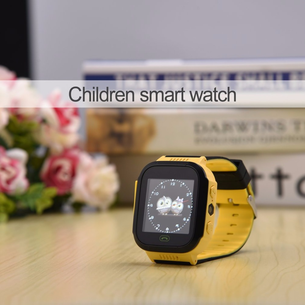 Baby Watch Tracker SOS Y03 Anti-Lost with Remote-Camera Sim-Calls Locator Touch-Screen