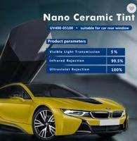 100% УФ доказательство UV400 70100 Sunice 99% ИК Rejectiom 2mil толщина солнечное окно автомобиля плёнки