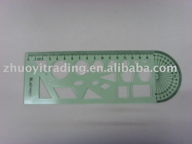 303 geometry template wholesale and retail in rulers from office