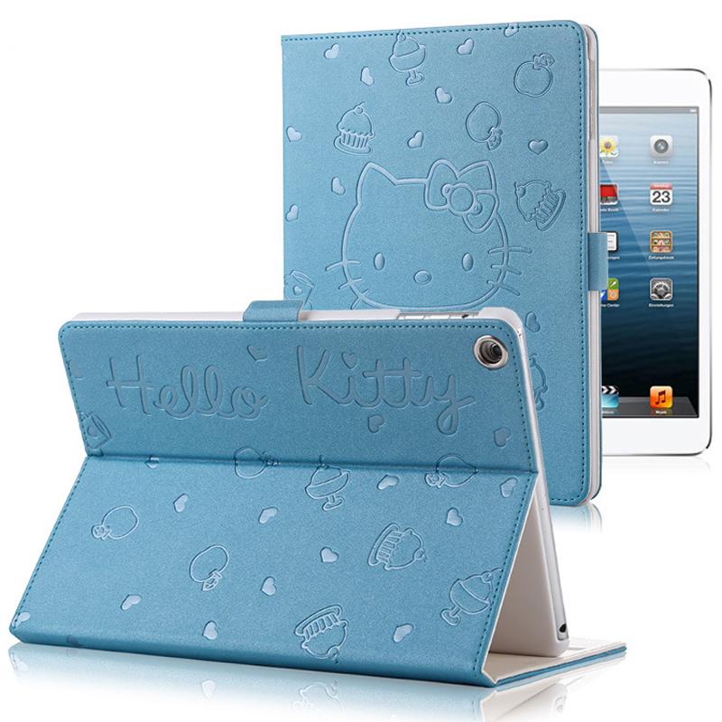 For iPad MiNi 4 KT Cover Stand PU Leather For Apple ipad MiNi 4 Case Tablet Cover New Cu ...